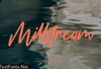 Millstream Handwritten Script Font