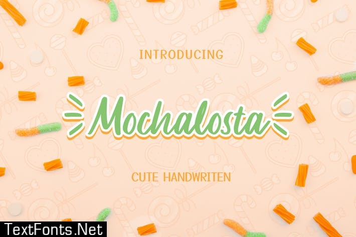 Mochalosta - Cute Handwritten