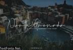 North Grenada Handwritten Script