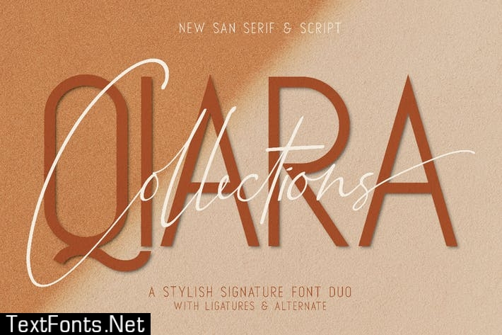 Qiara Collections Font Duo