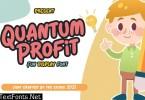 Quantum Profit - Fun Display Font