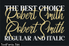 Robert Smith Font