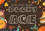 Rocky Age - Kids font