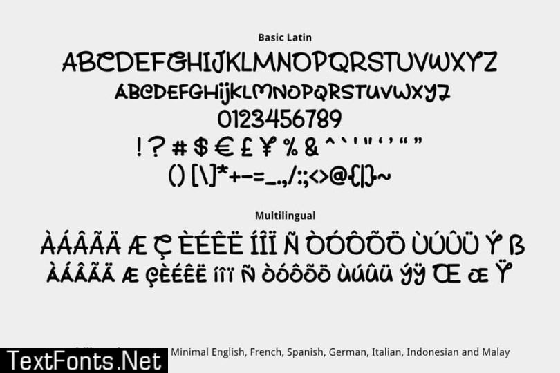 Shitake Font