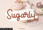 Sugarly Fancy Script Font