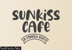 Sunkiss Cafe Font