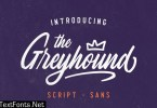 The Greyhound - Font Duo