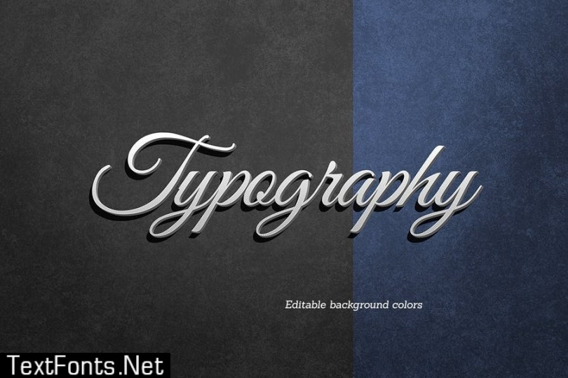 Typography Text Effect TX8LSTR