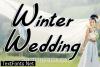 Winter Wedding Font