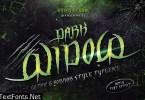Dark Widow Font