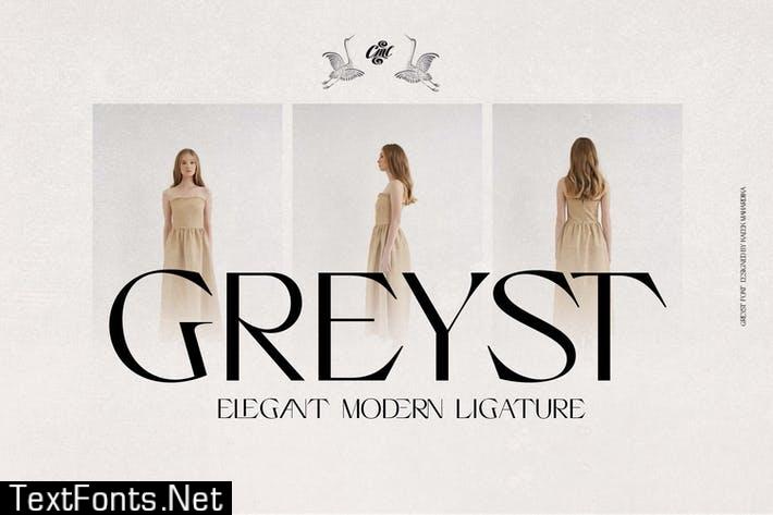 Greyst - Elegant Ligature font