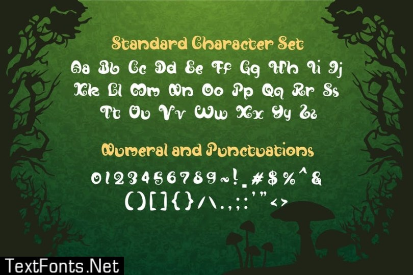 Hutan-Island Forest Display Font