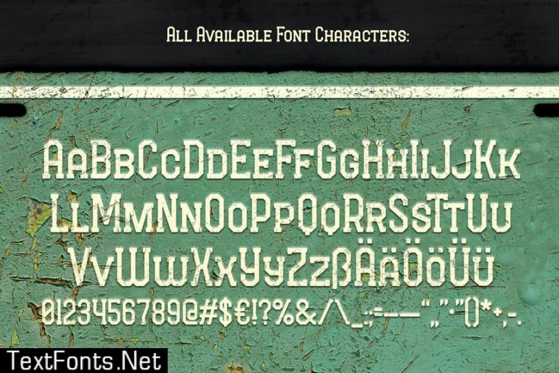 Long Ride Font