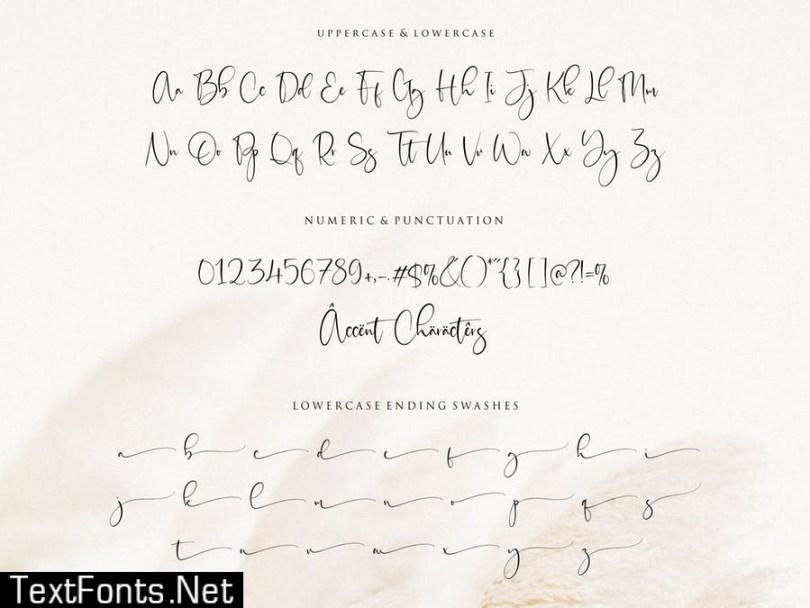 Sisterli Script Font YH