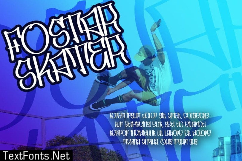 Skater Squad Font