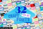 Craft Fonts Bundle