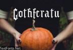 Gothferatu Font