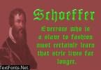 Schoeffer Font