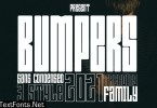 Bumpers Font