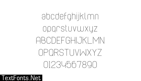 Cabo Rounded Family Font