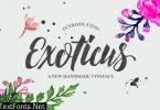 Exoticus Font