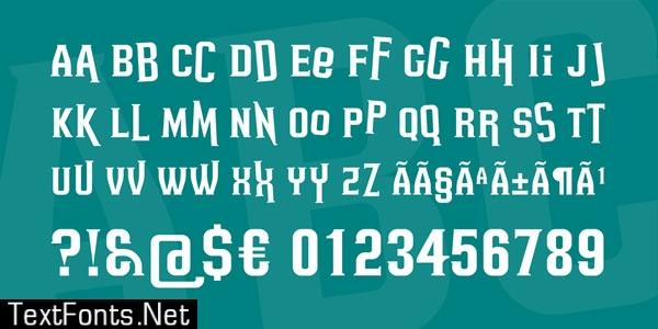 Headsome Modif Font