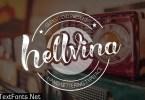 Hellvina Hand Script Font