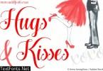 Hugs and Kisses Font