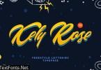Kely Rose Font