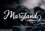 Maryland Modern Script