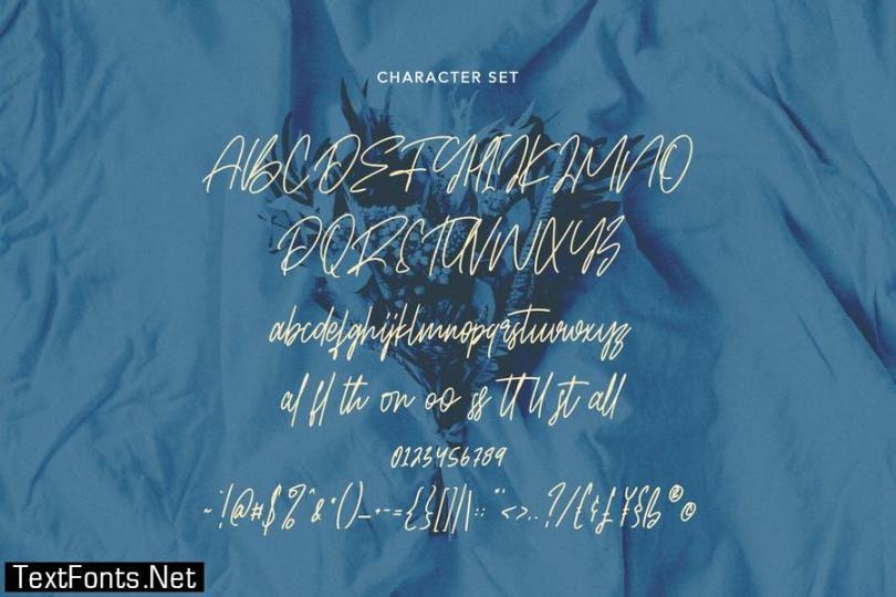 Bellmounts Handwritten Script Font