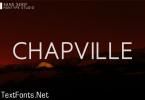 Chapville Font
