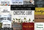 Christmas Fonts Bundle