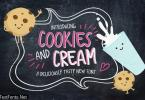 Cookies and Cream Font Family