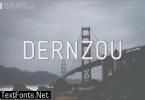 Dernzou Font