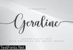 Geraline Font