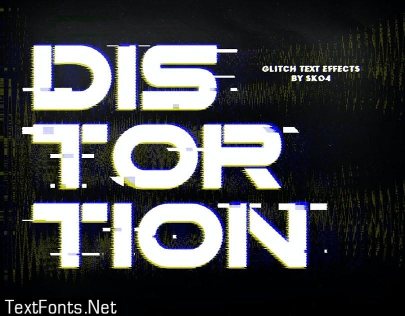 Glitch Effects - 10 PSD
