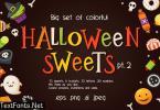 Halloween Vector Sweets