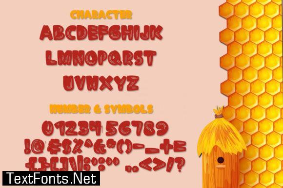 Happy Honey Font