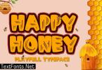 Happy Honey Font
