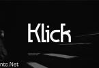 Klick Font