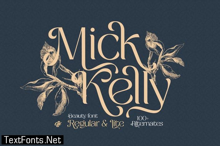 Mick Kelly - Beauty Modern Font