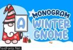 Monogram Winter Gnome Font