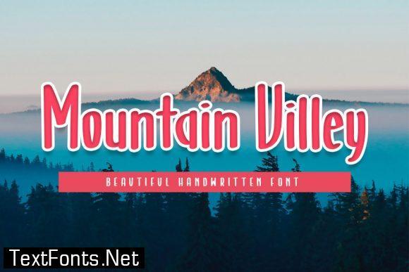 Mountain Villey font