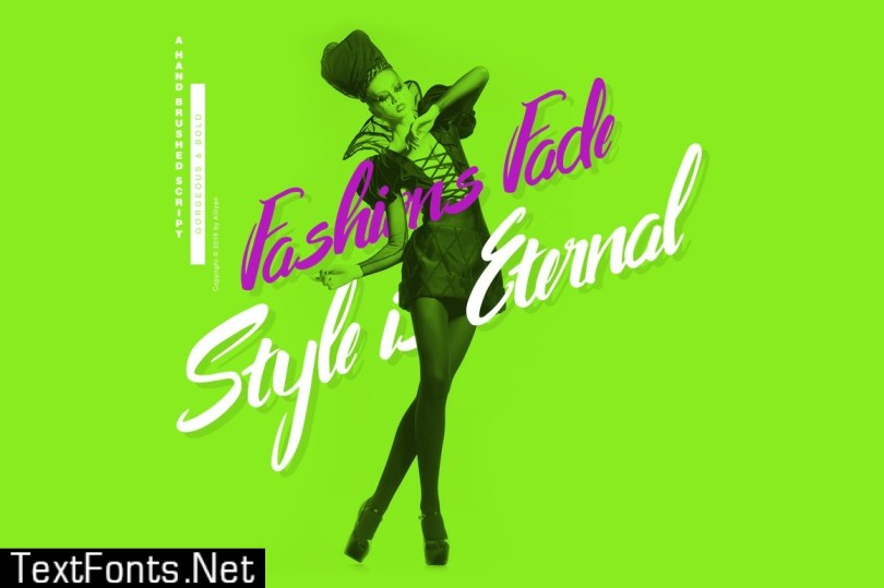 Ready For Fashion Font 506085