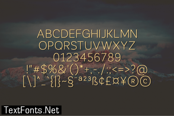 Relvume Font