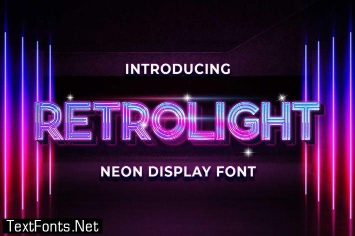 Retrolight - Retro Neon Display