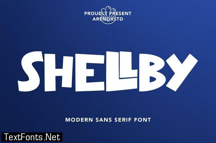 Shellby - Modern Sans Serif Font