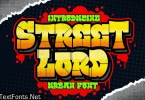 Street Lord Graffiti Font