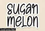Sugar Melon F ont